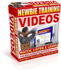Newbie Training Videos - Watch, Listen & Learn Your Way to Internet Marketing Success!