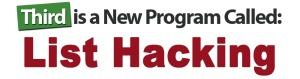 List Hacking