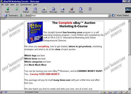 eBay Marketing Secrets
