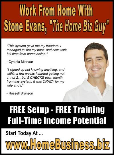 Home Business Magazine Ad