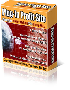 Plug-In Profit Site - Complete Money Making Site Setup FREE!