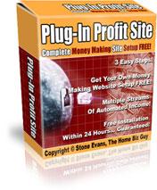 Plug-In Profit Site - Complete Money Making Site Setup FREE!