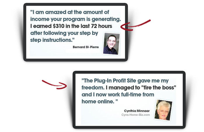 Plug-In Profit Site Reviews